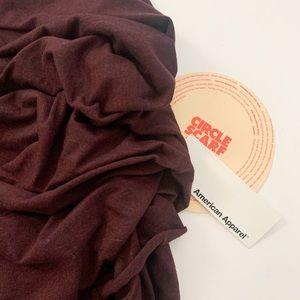 American Apparel Accessories - American Apparel Cherry Bomb Large Circle Scarf